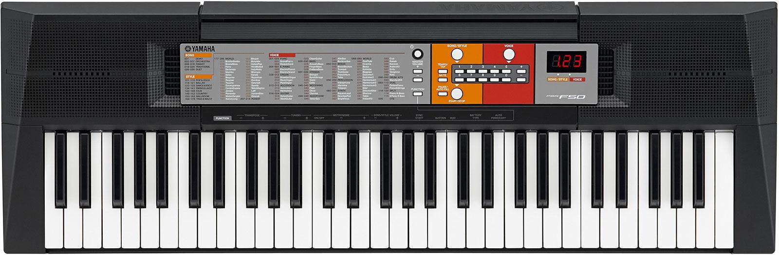 Portable keyboard Yamaha PSR-F50