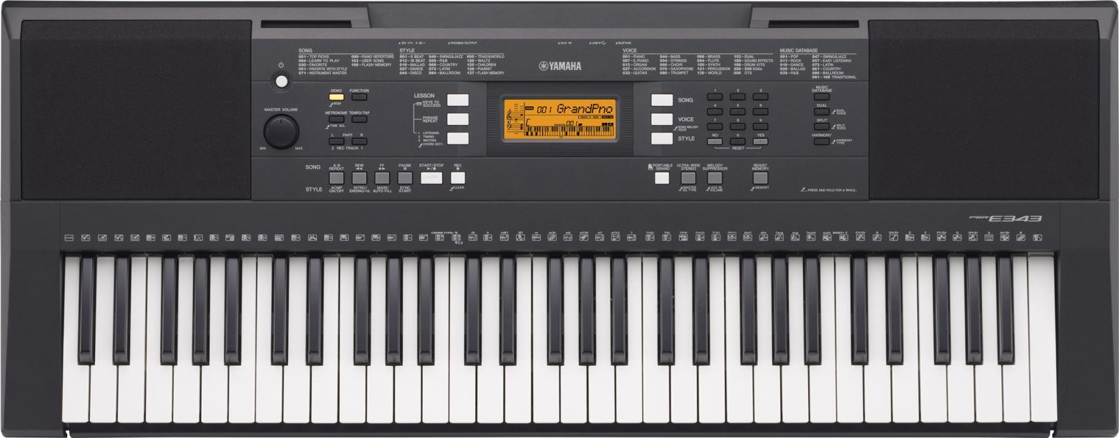 Đàn phím điện tử PSR-E343