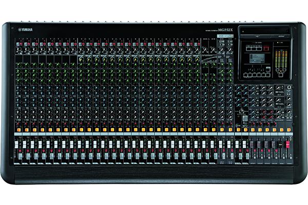 Mixer Yamaha MGP Series - Mixer Analog với trái tim Digital